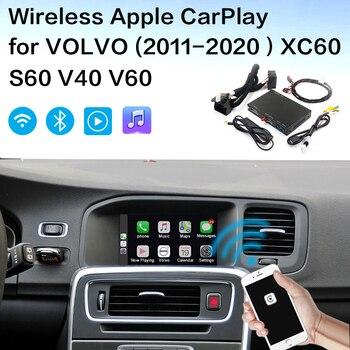 Decodificador sem fio da relação do automóvel de volvo android do carplay de shiliuxing da apple para volvo (2011 2020) xc60 s60 v40 v60 volvo carplay|Receptor de TV para carro|   -