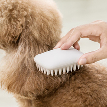 Pet Products Pet Comb for Dogs Grooming Silicone Massage Hair Brush Remover Fur Knot