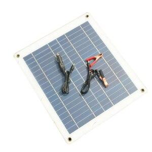 23 w fexible painel solar painéis células solares módulo de célula duplo usb interface18v para iate do carro conduziu a luz barco carregador ao ar livre Lâmpadas solares Luzes e Iluminação -