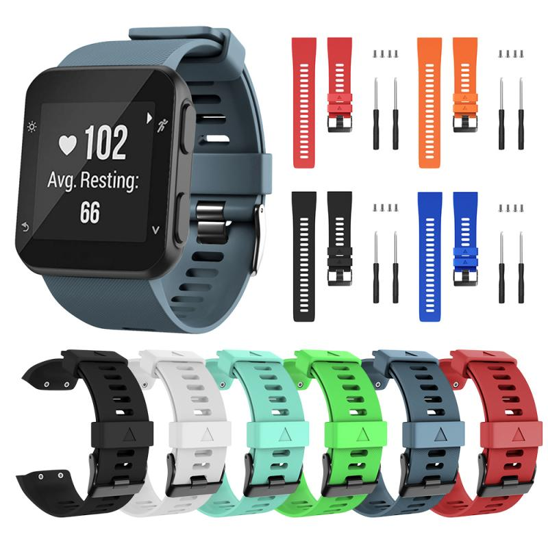 Wristband Band Strap For Garmin Forerunner 35 Sport Silicone Replacement Smart Watch Fashion Portable Smart Watch Accessories
