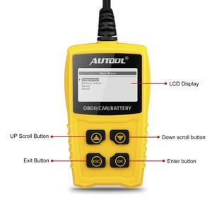 Image 5 - AUTOOL – outil de Diagnostic automobile CS330 12V, lecteur de Code OBD2 II, pour testeur de moteur automobile, batterie, pour SUV, VAN Diesel