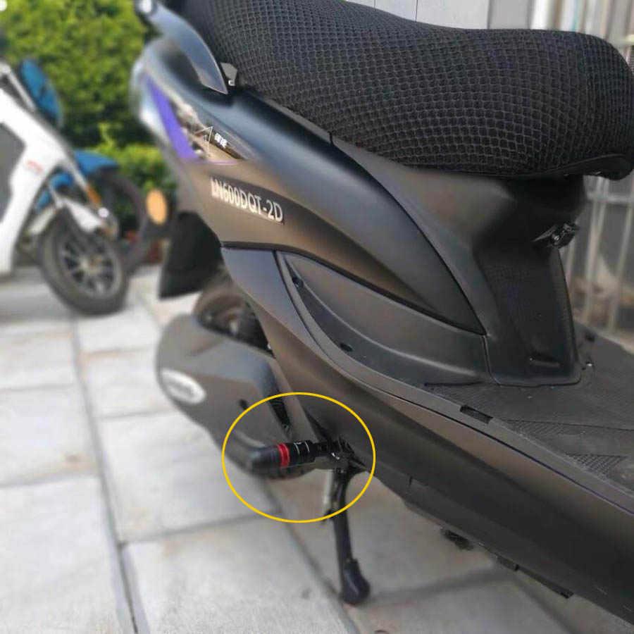 Claral Motocicleta de aluminio Faro neto del ajuste del protector de la cubierta del acoplamiento de la l/ámpara 4pcs Fit for Vespa GTS 125 250 300 2017 2018 2019 Accesorios Claral Color : Black