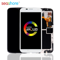 ORIGINAL For Motorola Moto x LCD Touch Screen Digitizer Assembly For MOTO X Display with Frame Replacement XT1052 XT1053 XT1058