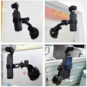 Image 4 - Araba vantuz osmo cep baz tutucu uyumlu spor aksiyon kameraları dji osmo cep kamera gimbal aksesuarları