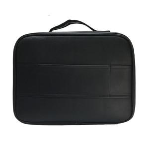 Image 5 - PU Leather Multifunctional Cosmetic Bag Large Capacity Make Up Case New Travel Makeup Bag