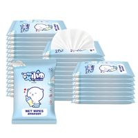 10Pcs Baby Gently Sensitive Wet Wipes For Hand Cleaning Outdoor Portable Wipes Baby Care Wipes Travel Pack