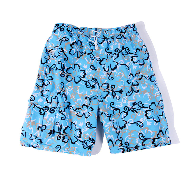 PHINIKISS New Style Men Leaf Printed Beach Casual Boxers AliExpress Swimming Trunks Beach Shorts