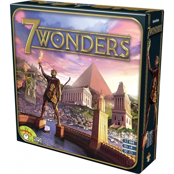 7 Wonders Board Game Multi-Colored Cards Family Home Entertainment Strategy Toy And Gift