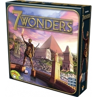 7 Wonders Board Game Multi Colored Cards Family Home Entertainment Strategy Toy and Gift