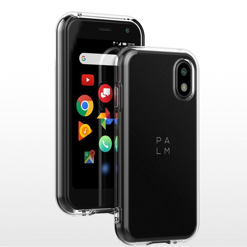 Чехол для телефона 4G Прозрачный чехол для TCL Palm mini phone PVG100 мягкий тонкий чехол из ТПУ + Защитная стеклянная пленка