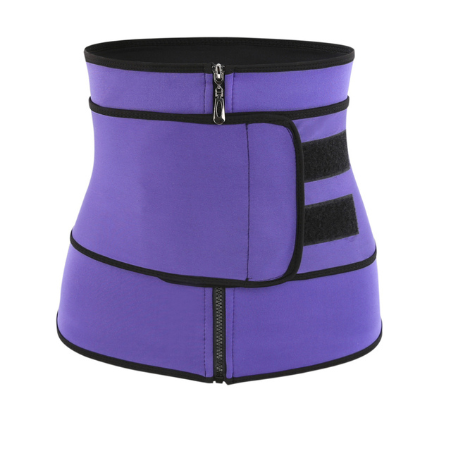 Waist Trainer Thermo Belt Sweat Waist Trainer Girdle Corset Women Tummy Body Shaper Shapewear Fat Burning Fitness Modeling Strap 3