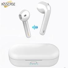 KISSCASE לשיאו mi mi אדום mi Airdots TWS Bluetooth 5.0 אוזניות סטריאו אלחוטי רעש ביטול עם mi c דיבורית אוזניות