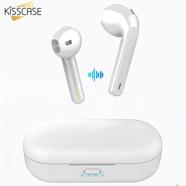 Kisscase Voor Xiao Mi Mi Rode Mi Airdots Tws Bluetooth 5.0 Oortelefoon Stereo Draadloze Ruisonderdrukking Met Mi C Handsfree oordopjes