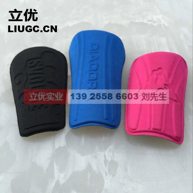 Football Shin Pads Greaves, Blade, Can Come Appearance Customizable, Dongguan Liyo Profession 0201
