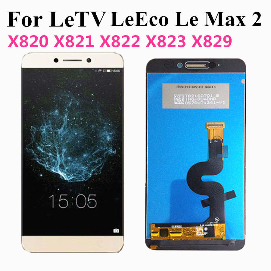 Original LCD For LeTV <font><b>LeEco</b></font> Le Max 2 LCD X829 X821 X822 X823 <font><b>X820</b></font> LCD <font><b>Screen</b></font> Display Touch <font><b>Screen</b></font> Digitizer Assembly Replacement image