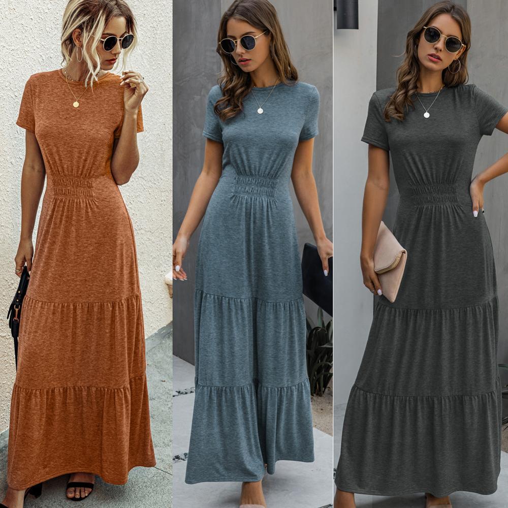 Sommer kleider casual böhmischen baumwolle kleid frauen kleidung 9  dresse frau lange sommer kleid kurze party kleider top frauen
