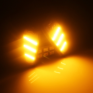 Image 5 - iJDM Smoked Lens Amber LED Bulb Front Side Marker Light Kit For 2015 up Jeep Renegade, Replace OEM Amber Sidemarker Lamps 12V