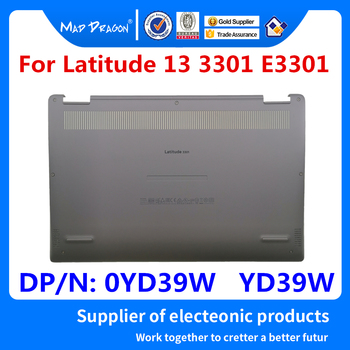 Laptop NEW original Bottom Base Bottom Cover Assembly Silver D shell for Dell Latitude 13 3301 E3301 0YD39W YD39W 460.0H601.0002
