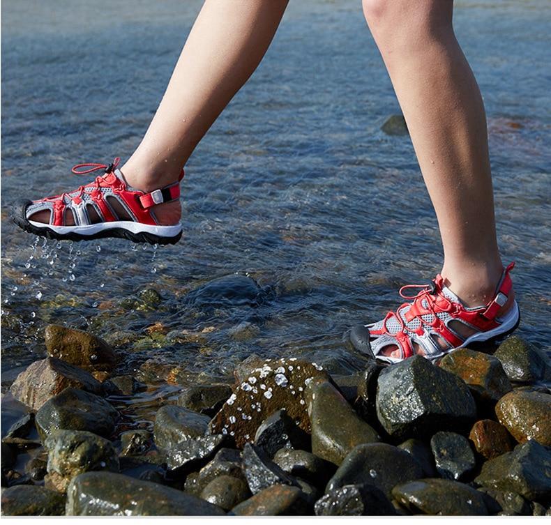 de praia secagem rápida sapatos de pesca masculino 466