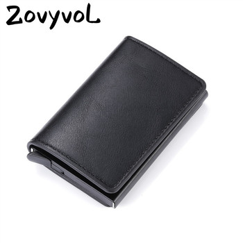 2020 Smart Wallet Bussiness Card Holder Hasp Rfid Wallet Aluminum Metal Credit Busines Mini Card Wallet Dropshipping Man Women