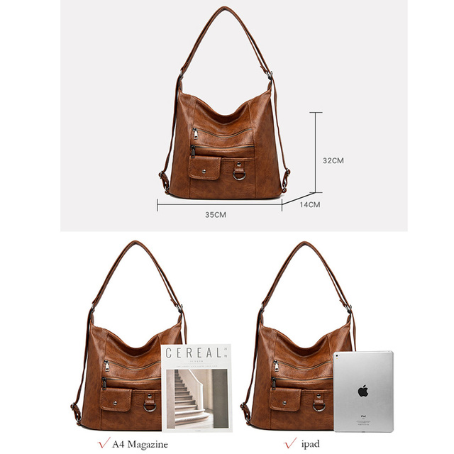 2020 NEW hot Women Leather Handbags Women Messenger Bags Designer Crossbody Bag Women Bolsa Top-handle Bags Tote Shoulder Bags 2