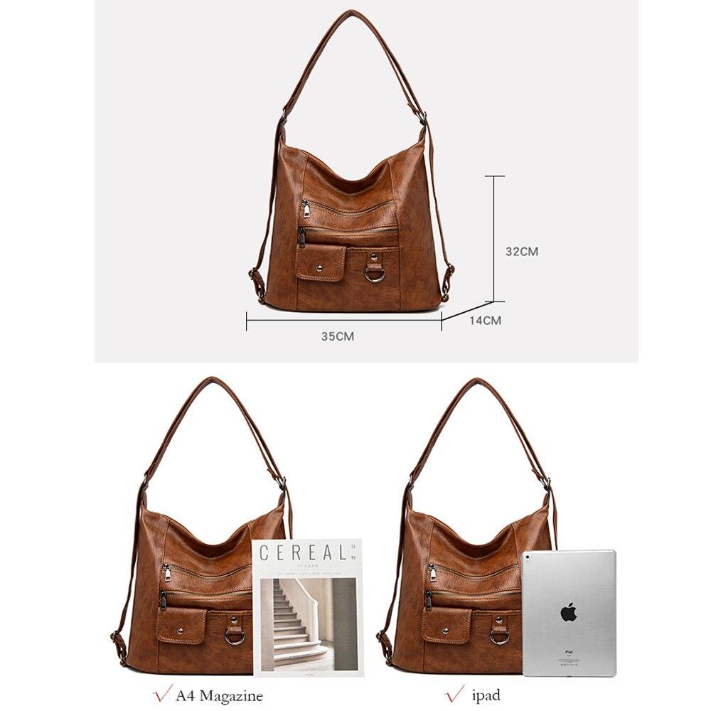 2020 NEW hot Women Leather Handbags Women Messenger Bags Designer Crossbody Bag Women Bolsa Top-handle Bags Tote Shoulder Bags