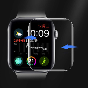 9D Full Curved Soft Tempered Glass For Apple watch band 38 40 42 44 mm Screen Protector for iWatch strap 5 Protective Glass Film 3d curved full cover tempered glass film for apple watch 40mm band flim screen protector for iwatch series 4