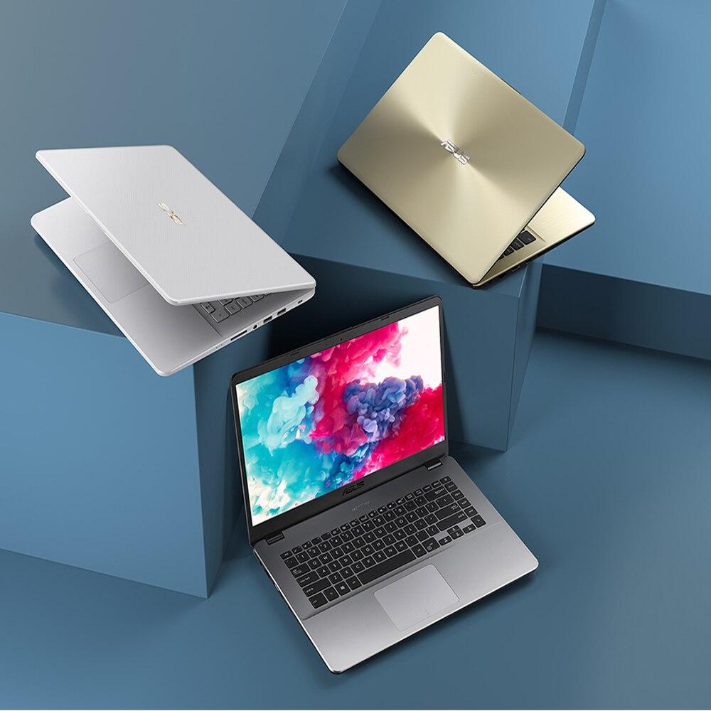 Ноутбук ASUS Vivo 15 X505, 15,6 дюймовый, для бизнес студента, для работы в офисе, ультра Книжный, игровой, тонкий, светильник, портативный ноутбук| |   | АлиЭкспресс