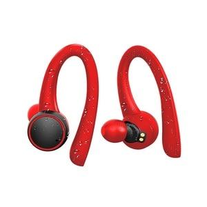 Image 4 - TWS אוזניות אלחוטי bluetooth 5.0 באוזן סיליקון רך Hifi סטריאו ספורט אוזניות עם טעינת תיבת T7 פרו עבור טלפון