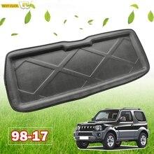 Для Chevrolet Suzuki Jimny JB23 JB33 JB43 JB53 1998-2017 поднос для грузового ботинка задний багажник напольный коврик ковер автомобильный Стайлинг