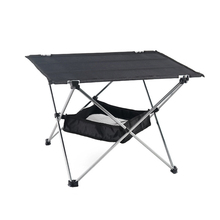 Folding Table Barbecue-Tools Picnic Outdoor Camping Travelling Aluminum-Alloy Bbq-Grill