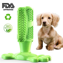 Dog Toothbrush Stick Puppy Dental Care Brushing Effective Doggy Teeth Cleaning Bite Resistant Chew Toys for Pet