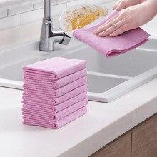 Полотенце тряпка без ворса для мытья кокосовой скорлупы, не загрязненное маслом, полотенце для домашней кухни