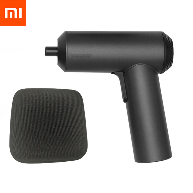 Xiaomi Mijia Cordless Rechargeable Screwdriver 2000mAh Li ion 5N.m 3.6V Electric Screwdriver With 12Pcs S2 Screw Bits for mihome