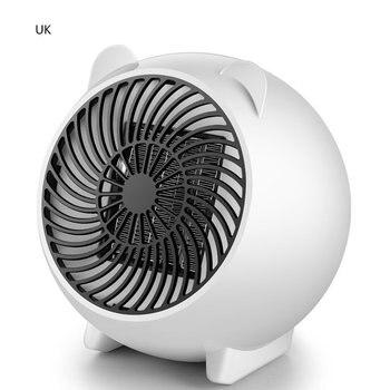 Small Fan Heater Electric Fan Heater Portable Fan Heating Space Heater Home Office Desktop Heating Warm Air Fan air purification fan leafless cold warm fan 2000w ceramic heating three in one purification cold warm air purifier 220v 1pc