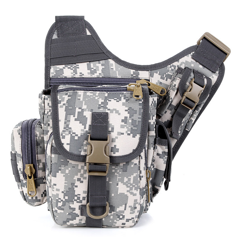 Manufacturers Direct Selling Camouflage Solid Color One-Shoulder Cross-body Chest Pack Tactical Alforja Army Fans Outdoor Photog