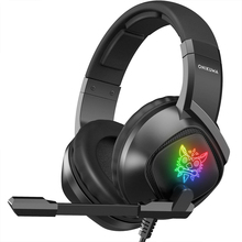 ONIKUMA K19 Wired Headset Gaming Headphones with Noise Cancellation Microphone,PC Computer Laptop PS4 Xbox ONE RGB Headset Gamer