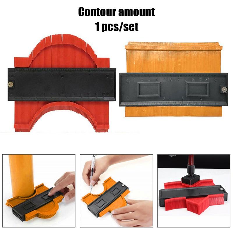 Contour Gauge Profile Copy Gauge Ruler Metric Inch Marking Gauge Shape Duplicator Tiling Laminate Tiles Measuring Tool GQ999