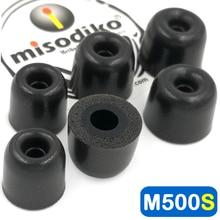 Misodiko M500S Memory Foam Earbuds puntas de orejeras para Jaybird X4 X3 X2, Freedom 2 F5, BlueBuds X/ Skullcandy/ Beats Powerbeats