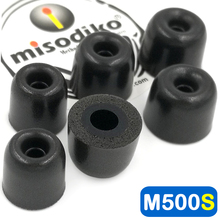 misodiko M500S Memory Foam Earbuds Tips Eartips for Jaybird X4 X3 X2, Freedom 2 F5, BlueBuds X/ Skullcandy/ Beats Powerbeats