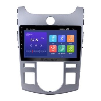Seicane 2 din android Car GPS Navigation Radio Multimedia Player 9 inch Android 9.1 autoradio for KIA Forte(AT) 2008-2012 Wif 3G image