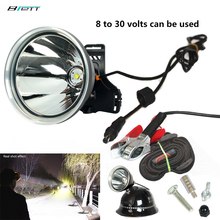 Headlight Cree xhp70.2 or T80 Super bright large aperture 8 to 30 volts can be used External battery led headlamp for adult