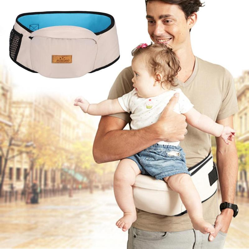 Baby Carrier Waist Stool Walkers Baby Sling Hold Waist Belt Backpack Hipseat Belt Kids Infant Hip Seat 23X14CM