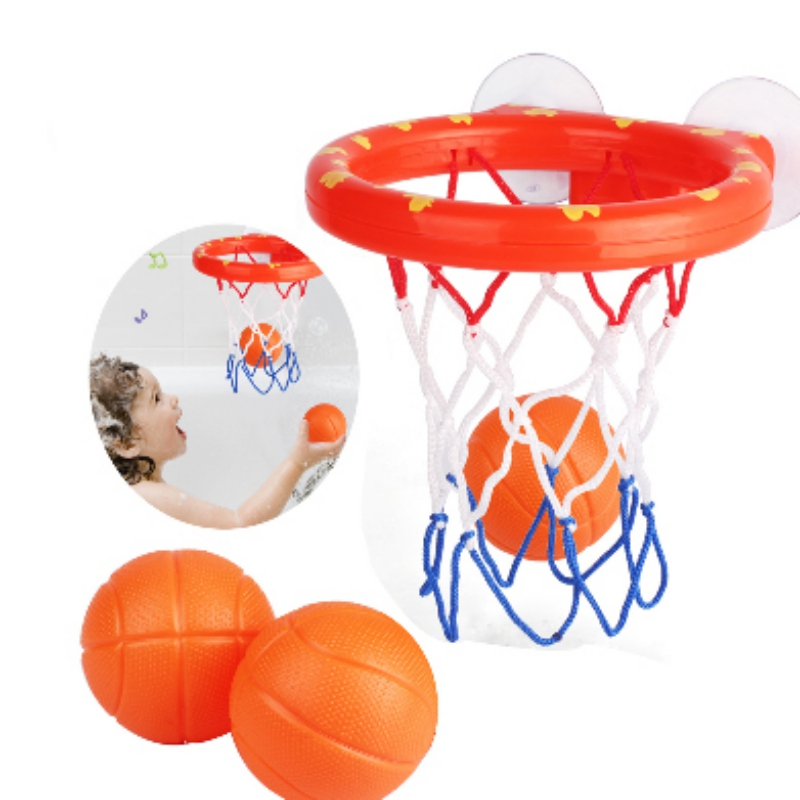 Children's Sports Game Toy Set Portable Fun Practical Basketball Indoor Household Basketball Toy Shooting Games Supply
