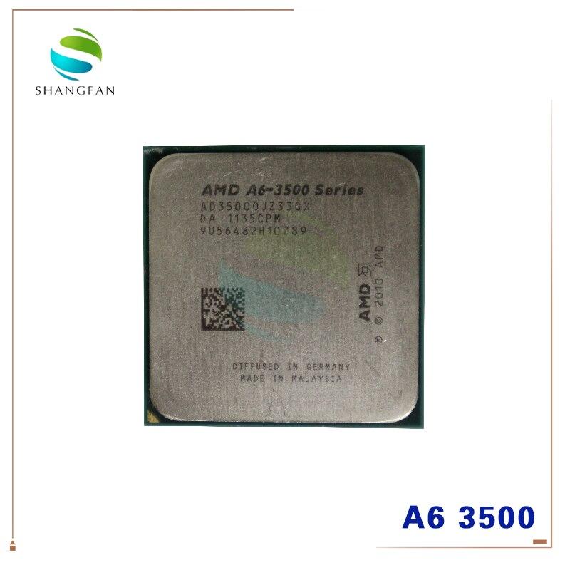 AMD Athlon  A6 3500  2.1GHz Triple-Core CPU Processor AD3500OJZ33GX 65W Socket FM1