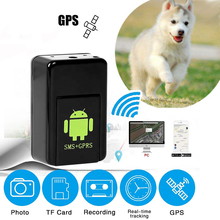 цена на GPS Tracker Mini GF08 Real Time SMS GPRS Vehicle Locator Cars Kids Elder Keys Pet Listening Device Tracking Tracker GPS Locator