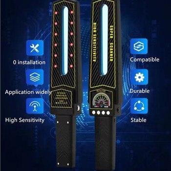 2021 Full Range Scan Wireless Spy Camera GPS RF Bug AI Signal Detector Laser Hidden Cam Lens  GSM Device Magnet Tracer Finder 6