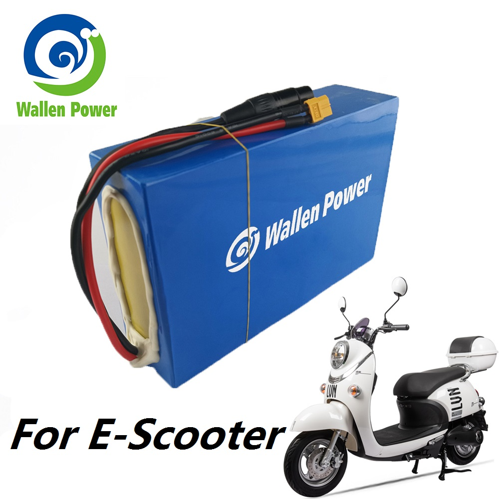 Lithium ion 18650 cells battery powerful electric bike 72v battery e-scooter battery pack for electric bike 3000W 2000W motor image