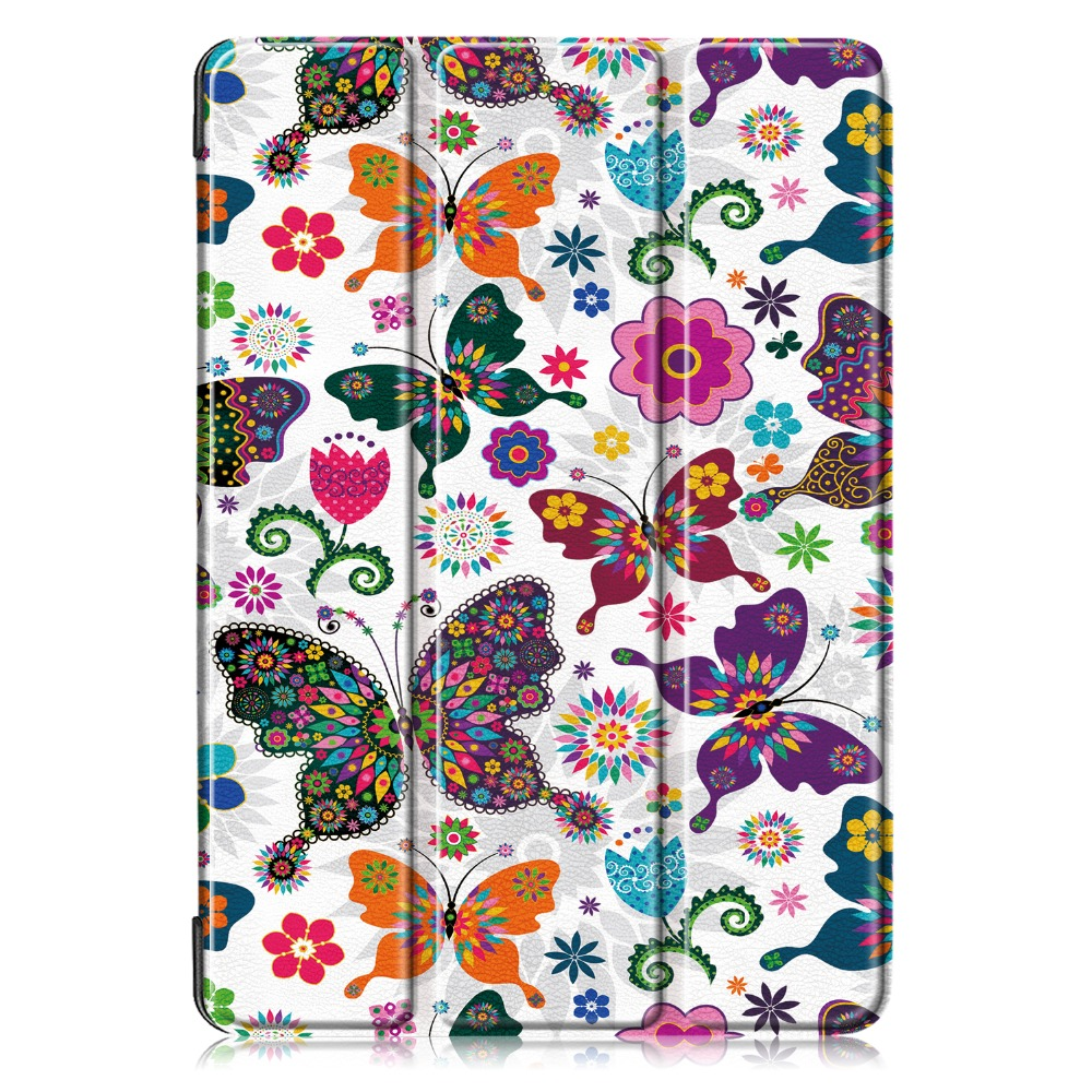 Generation 7 iPad 2019 iPad PU Smart Case for Leather A2200 10.2 Case for 7th Apple Cover
