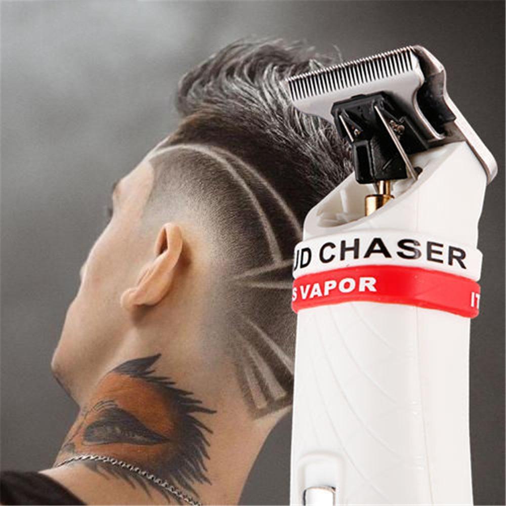 Bald Professional Cordless Hair Clipper Trimmer Beard Shaving For Men Barber Electric 0.1mm Cutter Hair Cutting Machine Haircut